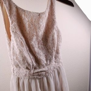 Speechless Womans Dress Small Cream White New